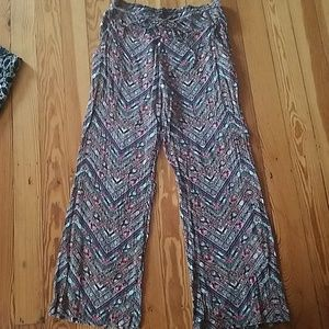 no comment. Pants - Multi color palazzo pants